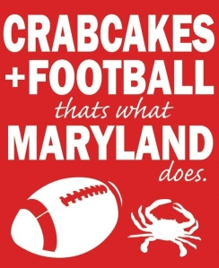 The crabcakes are awesome...the football is poop (GO STEELERS!)