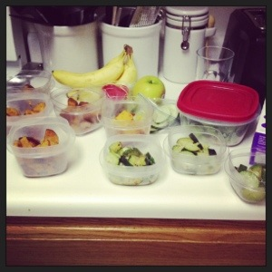 Meal planning...because eating ice cream for dinner really isnt healthy.