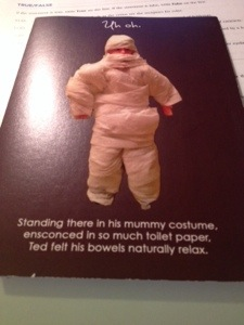 The sister's halloween card (front)
