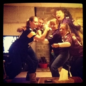 What I won't miss about Baltimore are those yucky Ravens fans ;) Except Mom. And Sara. They're Ok ;)