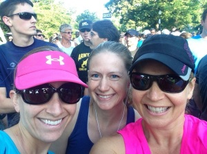 Typical runner selfie at the start line :)